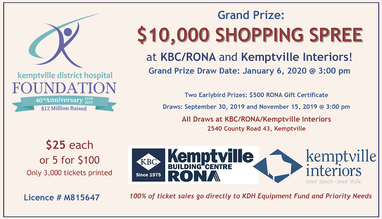 $10,000 Shopping Spree Raffle