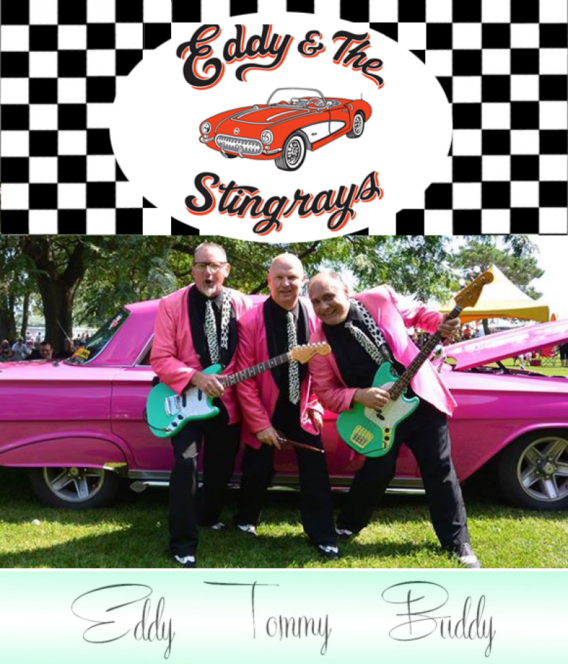 Eddy & The Stingrays Benefit For KDH Relocated To WB George
