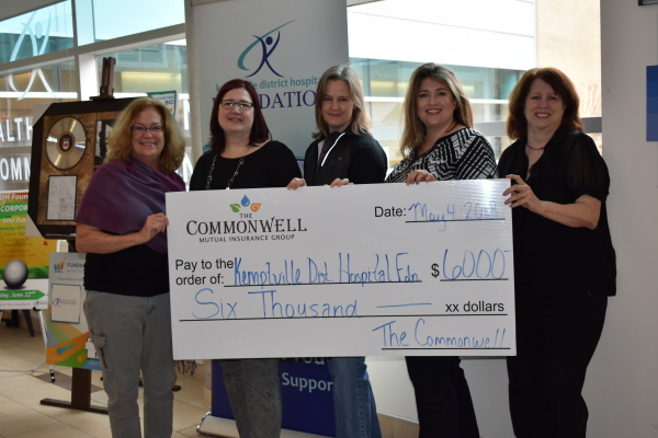 KDH FOUNDATION RECEIVES $6,000 GRANT FROM COMMONWELL MUTUAL INSURANCE GROUP