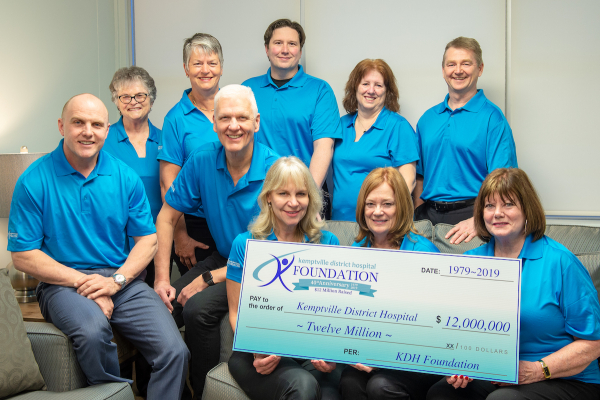 The KDH Foundation Board celebrates 40 years of fundraising