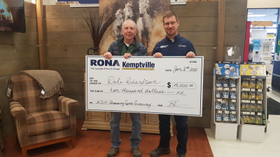 "KBC RONA Shopping Spree a ""Win Win"" for the Community"