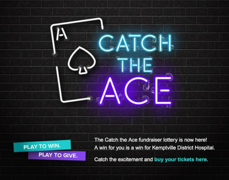 Excitement Comes to Kemptville via 'KDH Foundation Catch the Ace'!